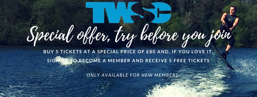 Special promotion for newcomers